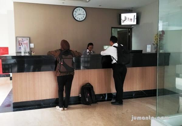 pelayanan hotel p pramuka