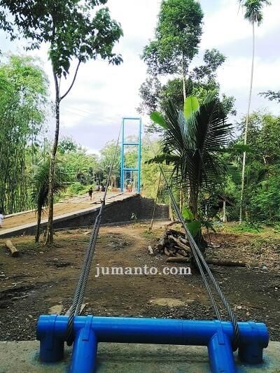 jembatan gantung desa pelumutan