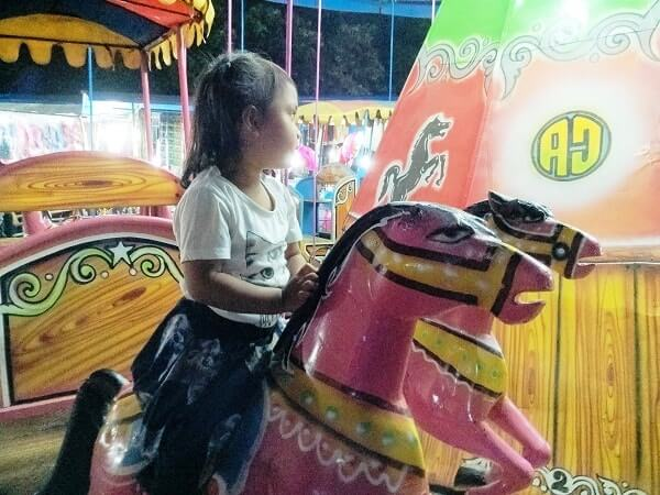 arena permainan anak pasar malam
