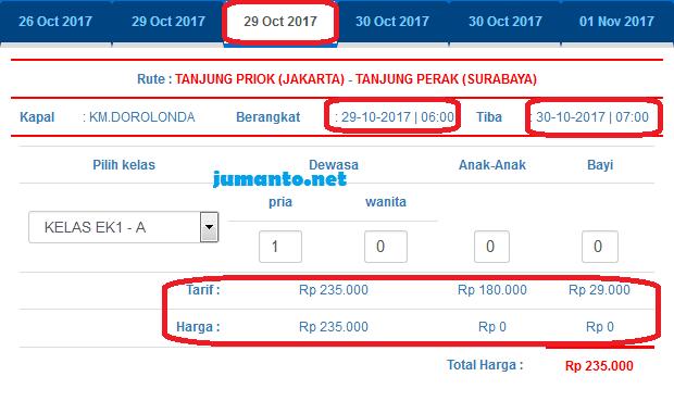 Harga Tiket Kapal Pelni Kelas Ekonomi Balikpapan Surabaya