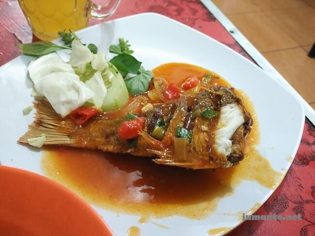 Foto menu wisata kuliner halal di bali, Warung Muslim Amelia Seafood