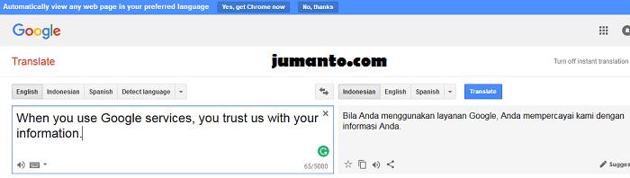 terjemahan otomatis bahasa inggris ke bahasa indonesia online terbaik