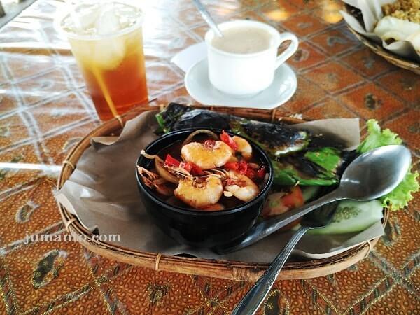 nasi liwet seafood