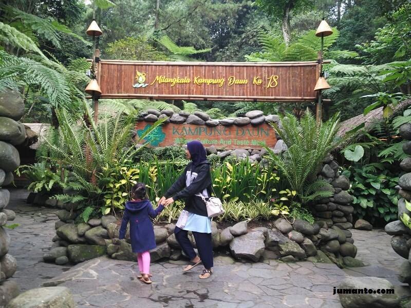 gambar alamat lokasi kampung daun bandung