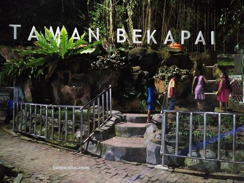 Lokasi Foto Dan Sejarah Taman Bekapai Balikpapan