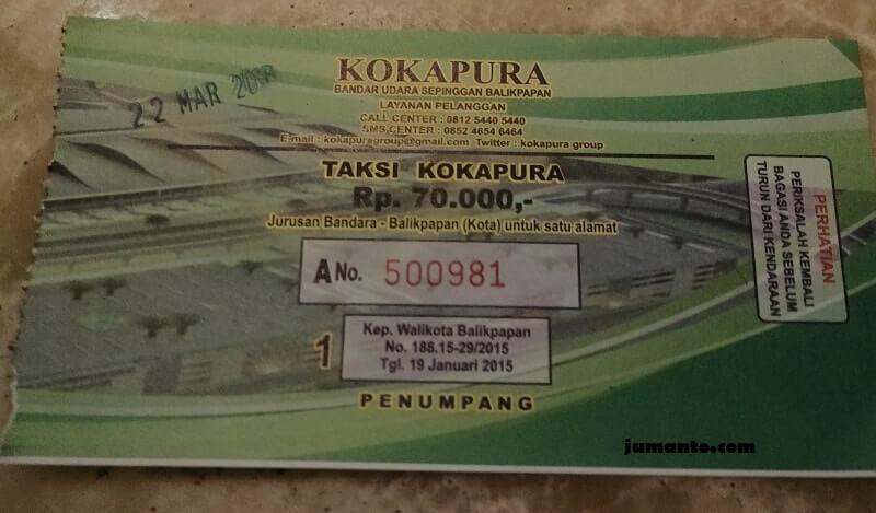 tiket taksi bandara balikpapan