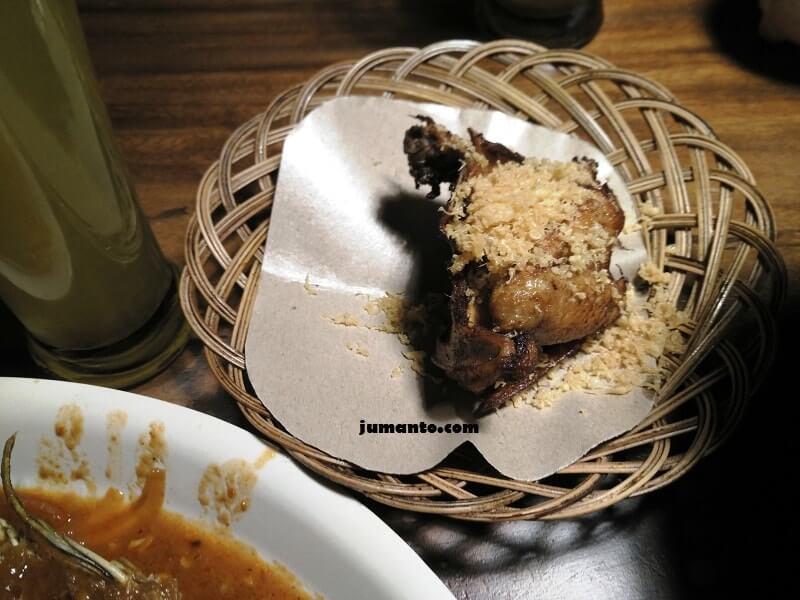 ayam bakar kalasan saung sewu resto
