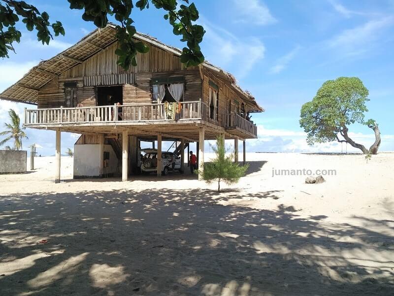 cottage di alau alau resort kalianda