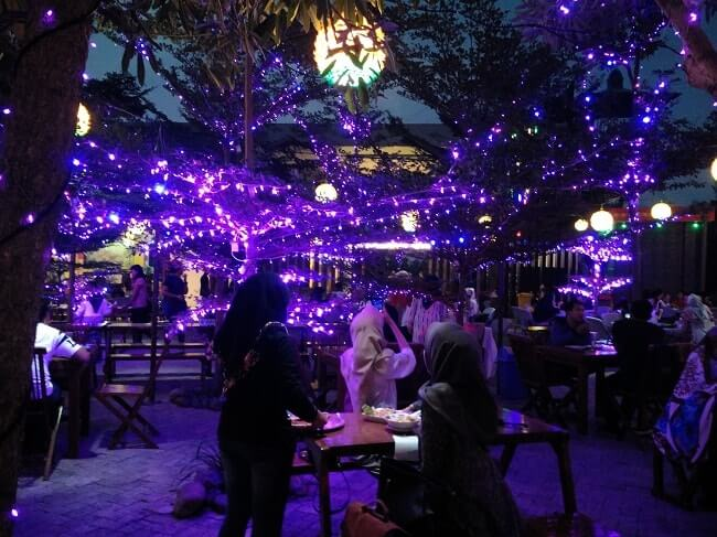 cafe romantis di bandar lampung, lampung walk