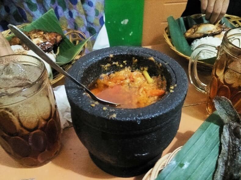 warung makan sambal alu lampung