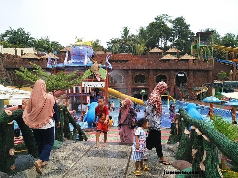 wisata slanik waterpark lampung