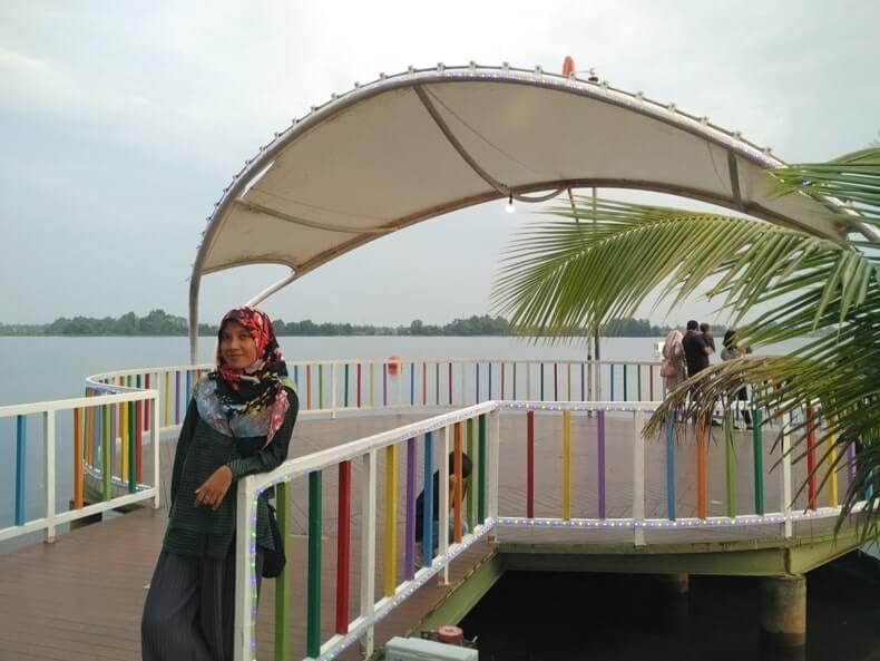danau jakabaring tempat nongkrong anak muda di palembang