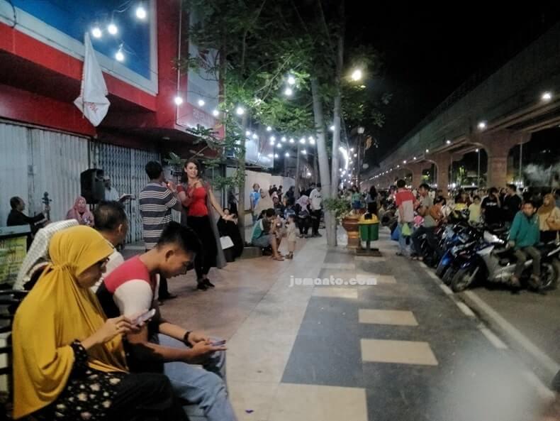 Sudirman Walk, Wisata Malam Kota Palembang