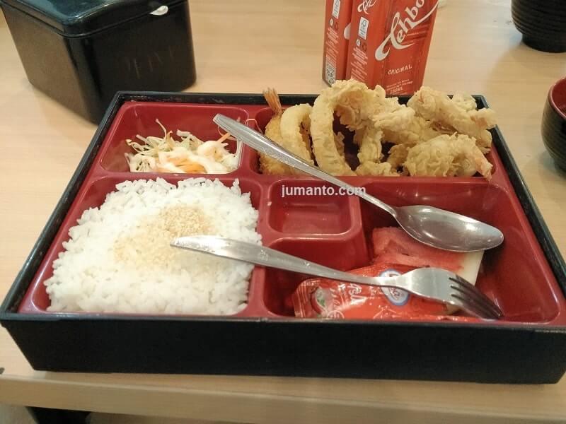 makanan di kuru katsu opi mall palembang