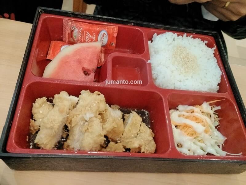 pengalaman makan di opi mall palembang