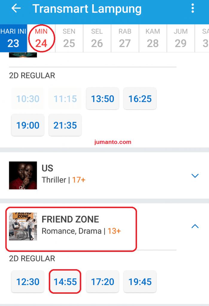 cara booking tiket bioskop di traveloka