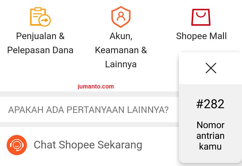 Live Chat Shopee Yang Mengecewakan, Makin Susah Hubungi CS