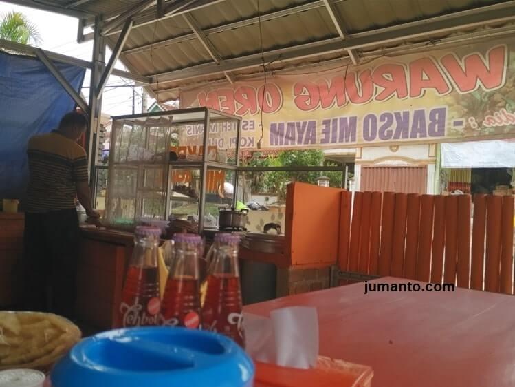 lokasi warung bakso oren bukit kemiling permai bandar lampung