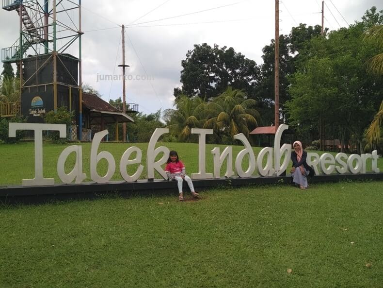 Liburan Di Kampung Wisata Tabek Indah Resort Natar Lampung Selatan