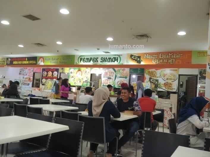 Nasi Bakar Opung Enak Di Central Plaza Lampung, Pedasnya Nendang