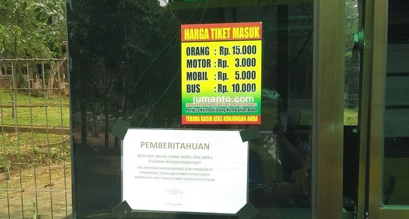 informasi biaya tiket masuk lembah hijau bandar lampung